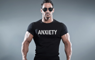Anxiety isn't manly