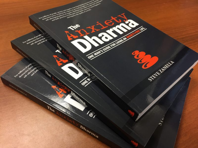 Check out a free sample of The Anxiety Dharma, my first book.